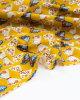 Cotton Babycord Fabric - Meadow Safari - Butterfly Bloom
