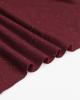Neppy Sweatshirt Fleece Fabric - Cranberry