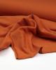 Neppy Sweatshirt Fleece Fabric - Rust