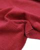 Washed Jumbo Corduroy Fabric - Carmine