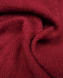 Wool Blend Jersey Knit Fabric - Foxglove