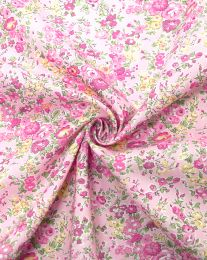 Liberty Tana Lawn Fabric - Tatum in Pink