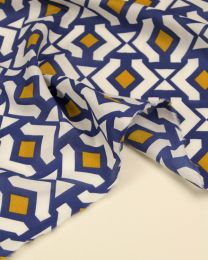 Cotton Marlie Lawn Fabric - Darcie Diamante