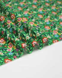 Ace Cotton Lawn Fabric - Kaleidoscope - Confetti Garden Green
