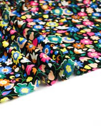 Ace Cotton Lawn Fabric - Kaleidoscope - Night Garden