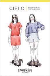 Closet Core - Paper Sewing Pattern - Cielo Top & Dress