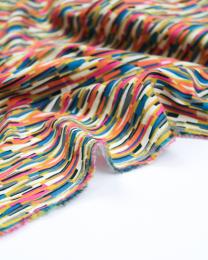Cotton Babycord Fabric - Kaleidoscope - Confetti Chip