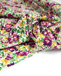 Cotton Poplin Fabric - Gia's Garden Day