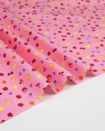 Cotton Poplin Fabric - Fruit Machine