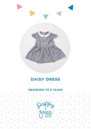 Poppy & Jazz - Paper Sewing Pattern - Daisy Dress