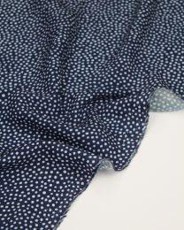 REMNANT - Dotty About Dots Viscose Fabric - 90cm x 140cm