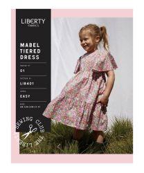 Liberty - Paper Sewing Pattern - Mabel Tiered Dress