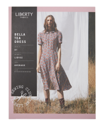 Liberty - Paper Sewing Pattern - Bella Tea Dress