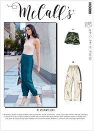 McCall's Pattern 8099 - Lina Cargo Trousers & Shorts