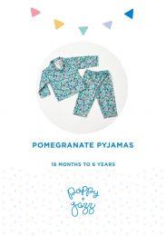 Poppy & Jazz - Paper Sewing Pattern - Pomegranate Pyjamas