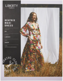 Liberty - Paper Sewing Pattern - Beatrix Maxi Dress