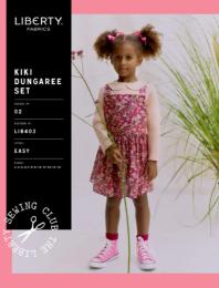 Liberty - Paper Sewing Pattern - Kiki Dungaree Set