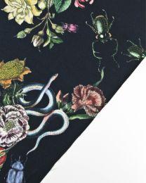 Cotton Candess Drill Fabric - Cobra Corsage