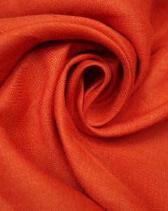 Pure Linen Fabric - Tomato