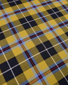 Cotton Cornish Tartan Fabric - National