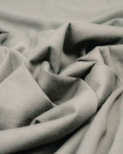 Organic Cotton Jersey Fabric - Silver Grey