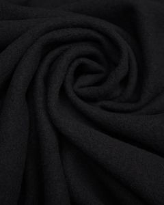 Wool Jersey Fabric - Navy