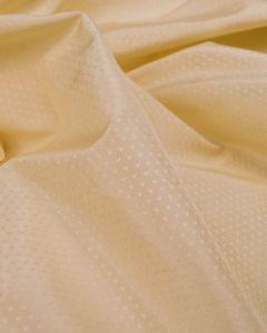 Silk Taffeta Fabric - Cream Birdsfoot