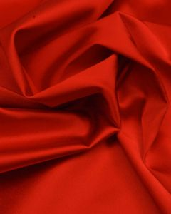 Stretch Satin Fabric - Red