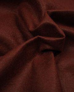 Craft Felt Fabric - Wool Blend - Chestnut