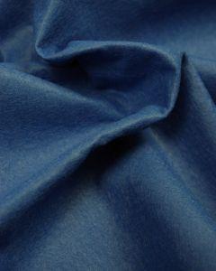 Craft Felt Fabric - Wool Blend - Mid Blue