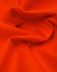 Craft Felt Fabric - Wool Blend - Orange