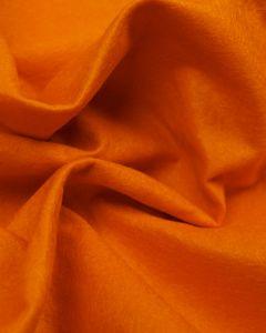Craft Felt Fabric - Wool Blend - Dahlia Orange