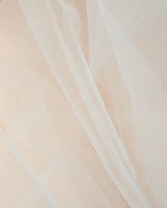 Fine Tulle Fabric - White
