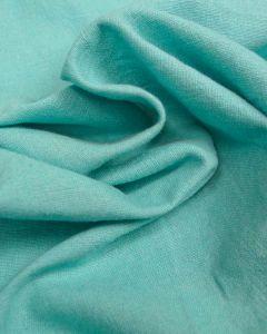 Linen & Cotton Blend Fabric - Lagoon
