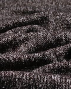 Chunky Knit Jersey Fabric - Maroon