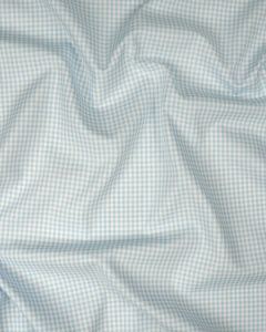 Yarn Dyed Cotton Fabric - 3mm Gingham Baby Blue