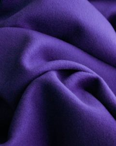 Wool & Cashmere Fabric - Violet