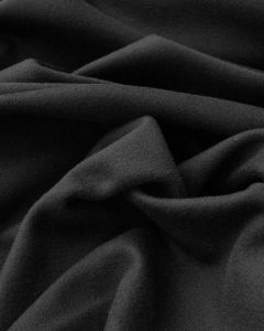 Wool & Cashmere Fabric - Black