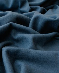 Wool & Cashmere Fabric - Airforce Blue