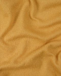 Boiled Pure Wool Jersey Fabric - Mustard