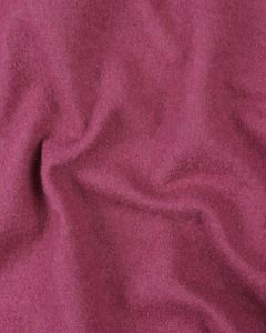 Boiled Pure Wool Jersey Fabric - Fuchsia