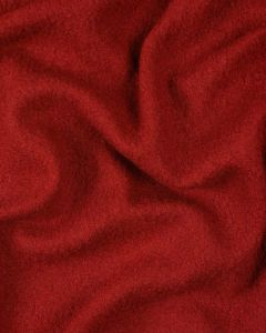 Boiled Pure Wool Jersey Fabric - Red