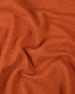 Boiled Pure Wool Jersey Fabric - Orange