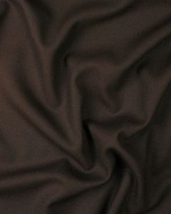 Pure Wool Crepe Fabric - Chocolate Brown
