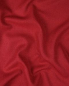 Pure Wool Crepe Fabric - Cherry Red