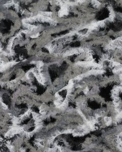 Needle Felted Jersey Fabric - Stone Multi