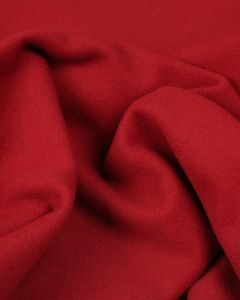 Wool & Cashmere Fabric - Red