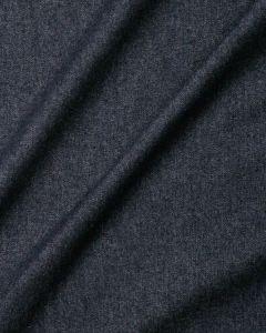Medium Weight Washed Denim Fabric - Dark Blue