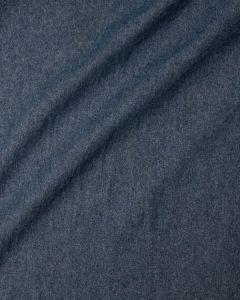 Medium Weight Washed Denim Fabric - Mid Blue