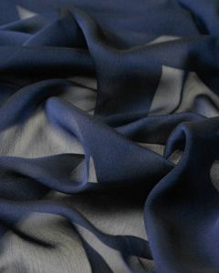 Shot Chiffon Fabric - Midnight